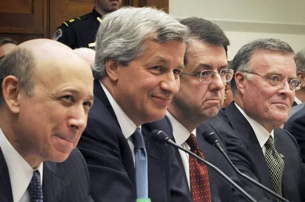 The jerks got away with it! 5 years after economic collapse, they're still smiling