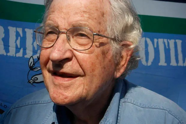 Noam Chomsky is right: It's the so-called serious who devastate the planet and cause the wars
