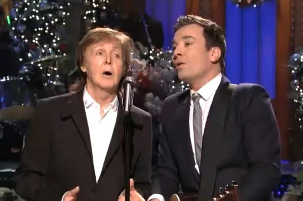 Madonna, Paul McCartney and Mayor Bloomberg make surprise appearances on SNL's Christmas episode