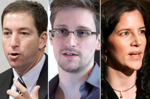Awards they couldn't accept: The tragic irony of Greenwald, Poitras and Snowden
