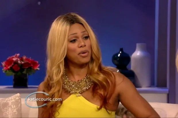 Laverne Cox flawlessly shuts down Katie Couric's invasive questions about transgender people
