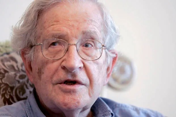 Noam Chomsky: The United States is totally isolated