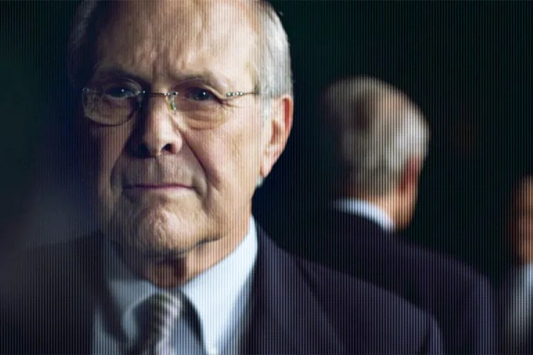 "Errol Morris On Rumsfeld The Truth And ""The Unknown Known"