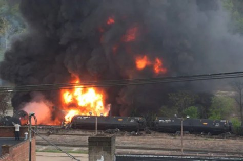 Why oil-by-rail is an explosive disaster waiting to happen
