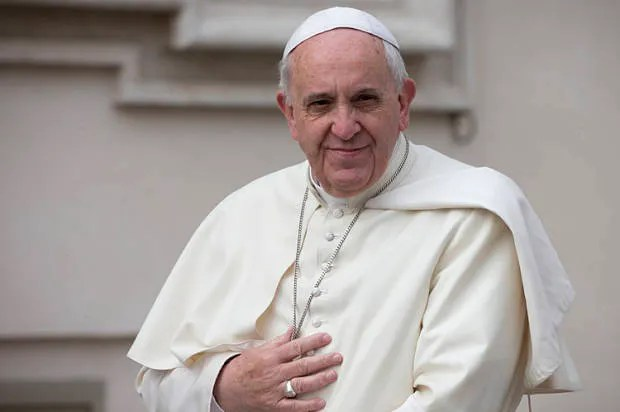 """God is not a magician, with a magic wand"": Pope Francis schools creationists"