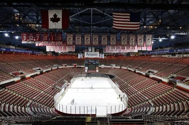 Detroit's latest pension disgrace: A gaudy new arena at retirees' expense