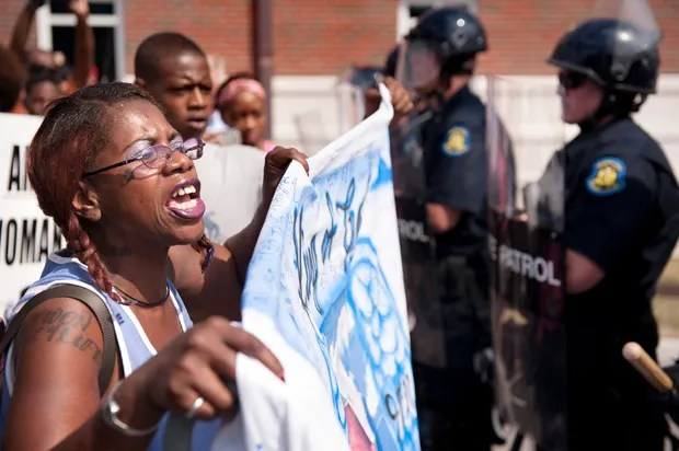 In defense of black rage: Michael Brown, police and the American dream