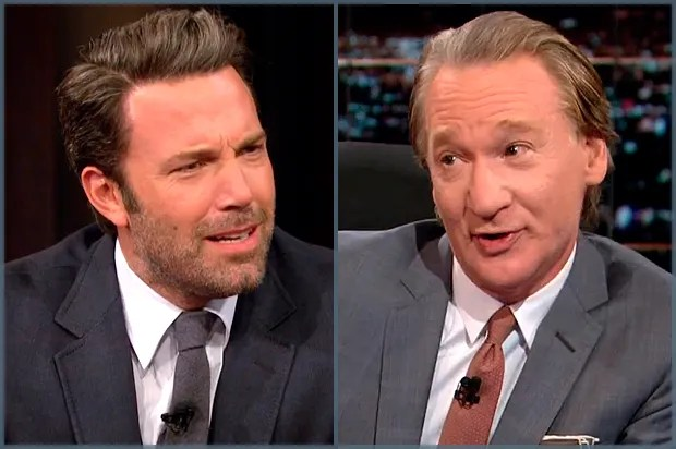 "EXCLUSIVE: Bill Maher on Islam spat with Ben Affleck: ""We're liberals! We're not crazy tea-baggers"""