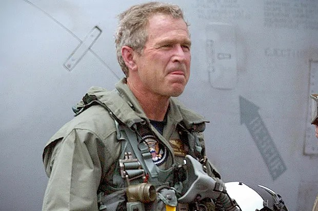 The swaggering idiot returns: George W. Bush emerges from artistic exile to rehab his disastrous legacy