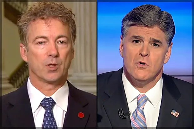 America's political narcissism: What Rand Paul, Sean Hannity (and even some liberals) forget