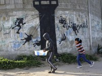 1000+ images about Banksy! on Pinterest | The club, Gaza ...