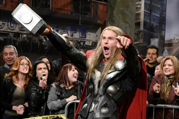 Chris Hemsworth Comes Out Of His Shell How SNL
