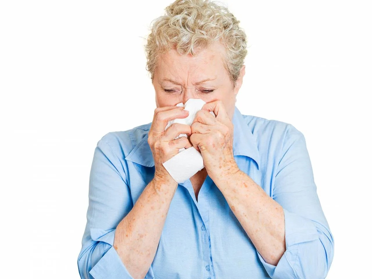 Image result for Elderly Woman Sneezing Picture