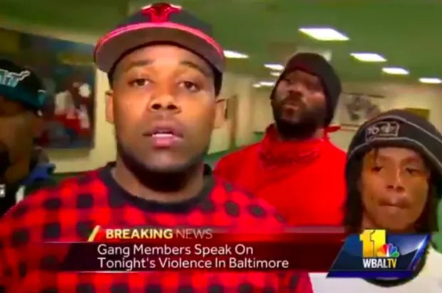 Alliance of Baltimore street gangs: There is no conspiracy to attack the police
