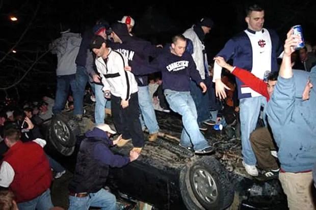 "Lest we forget: When white kids do it, it's not a riot, it's a ""celebration"""