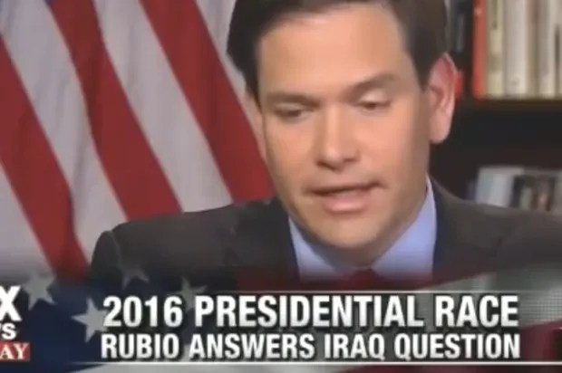 Marco Rubio is toast: Fox News trips up another Republican with simple Iraq war question