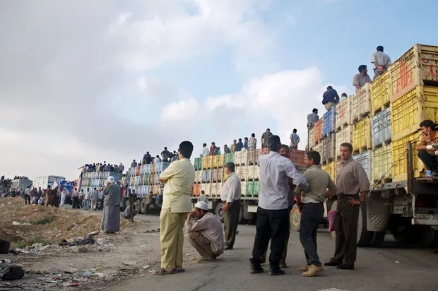 """""""The worst spot in Gaza"""": """"You will not understand how hard it is here"""" until you see this checkpoint"""