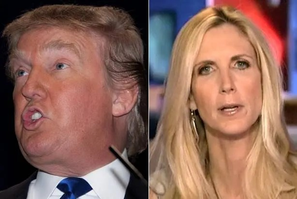 Ann Coulter celebrates the revelation of Trump's new anti-Muslim immigration plan as only she can