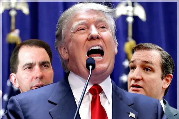 GOP's baffling Trump cowardice: A party too timid to denounce a bigoted gasbag