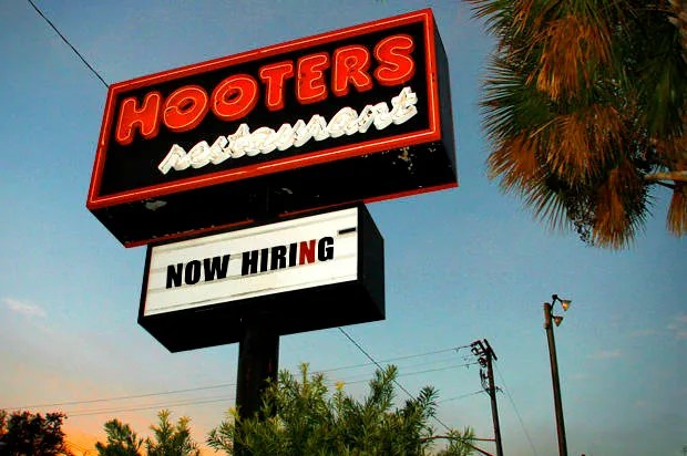 I had to be high to work at Hooters: Boobs, binge eating and men's wandering hands