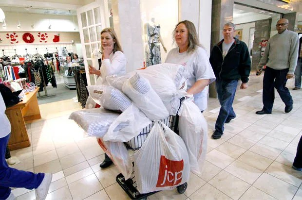 Malls of America: They may masquerade as public spaces -- but they just want us to shop