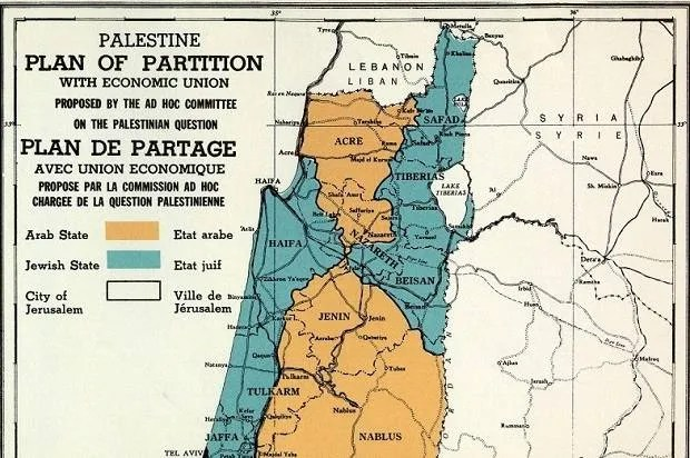 U.N. voted to partition Palestine 68 years ago, in an unfair plan made even worse by Israel's ethnic cleansing