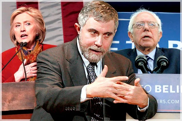 """He is already a winner"": Why Paul Krugman's attacks on Bernie Sanders miss the mark"