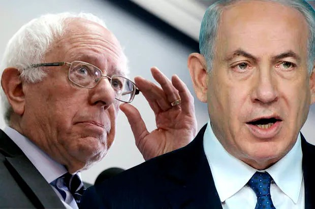 83% of senators call for boosting exorbitant U.S. aid to Israel; Bernie Sanders one of 17 who didn't