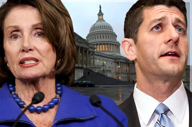 Image result for images of Nancy Pelosi and Paul Ryan