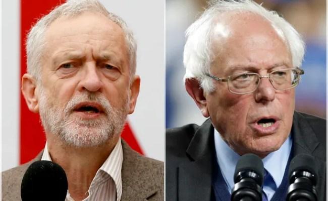 Unlikely Leaders Why Bernie Sanders And Jeremy Corbyn