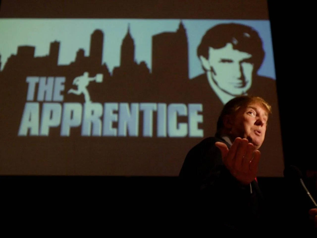 Former Apprentice producer reflects on buffoon with the funny hair Donald Trump winning
