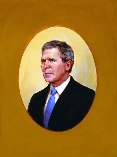 the presidential portrait power