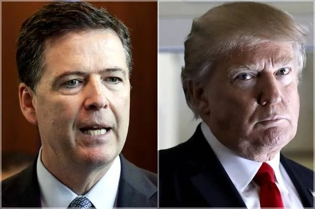 Image result for trump vs comey
