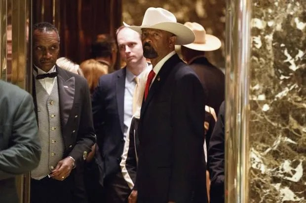 "Milwaukee journalists: Sheriff David Clarke is ""missing in action"""