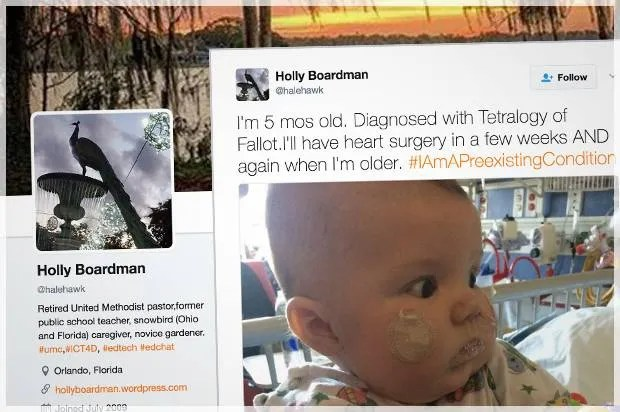 #IAmAPreexistingCondition: Twitter fires back after House passes healthcare bill