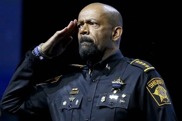 "Looks like Sheriff David Clarke's ""army"" medals might be B.S."