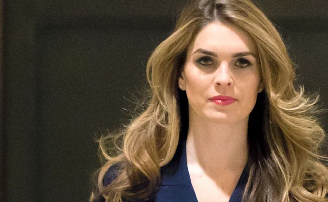 Hope Hicks Left Behind A White House Wrapped In Jealously