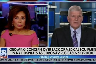 WATCH: Franklin Graham Says Coronavirus Pandemic is the 'Result of a Fallen World' That Has 'Turned Its Back on God' and Encourages People to 'Pray and Ask God for Help'
