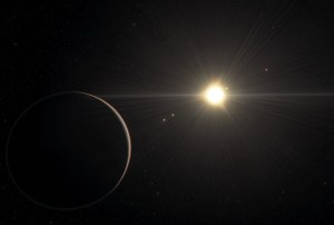 """Astronomers discover a bizarre chain of five planets that """"dance"""" in perfect resonance"""