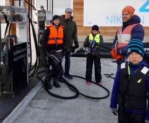 Årets provfiske i Saltsjöbaden