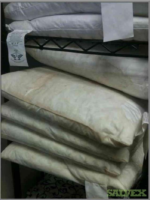 Fabric Rolls Water Damage  Salvex