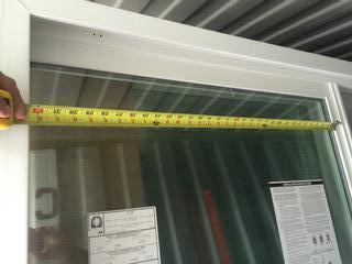 triple panel patio sliding doors 108 x