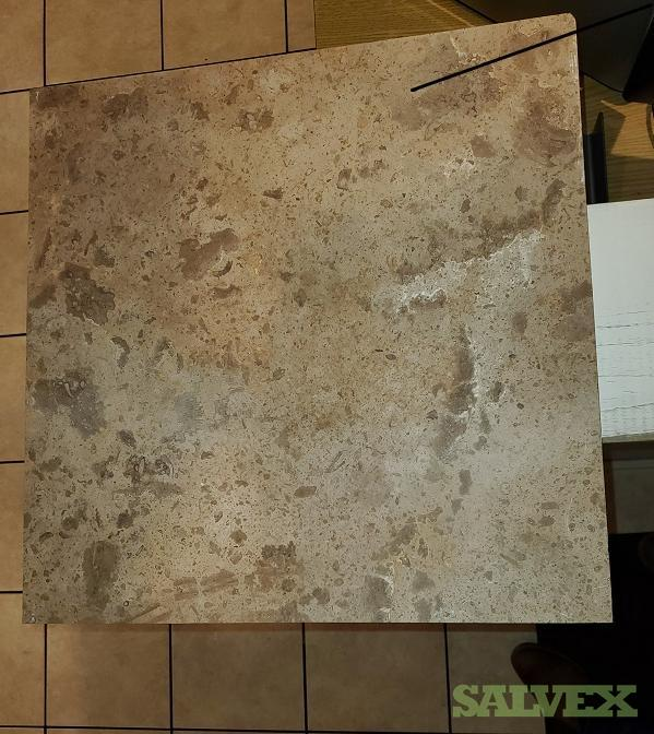 travertine stone tile 18 x 18 x 1 2