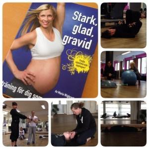 Träning under och efter graviditet.