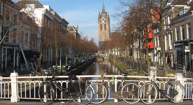 Go Dutch in Delft  San Diego Reader