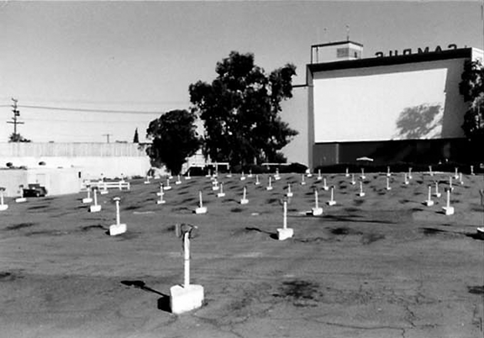 Drivein theaters in San Diego Midway Campus Rancho