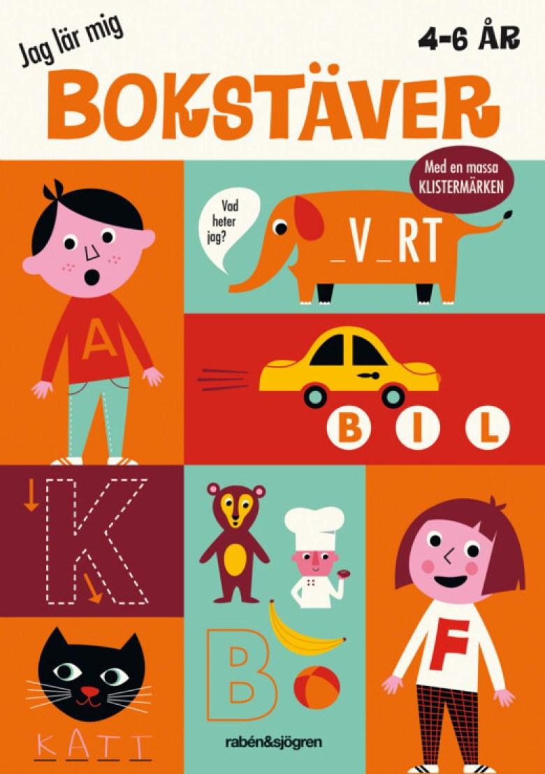 bok jag lär mig bokstaver