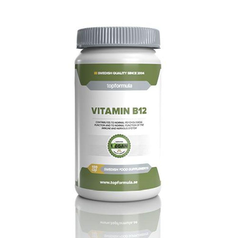 b-vitamin för veganer