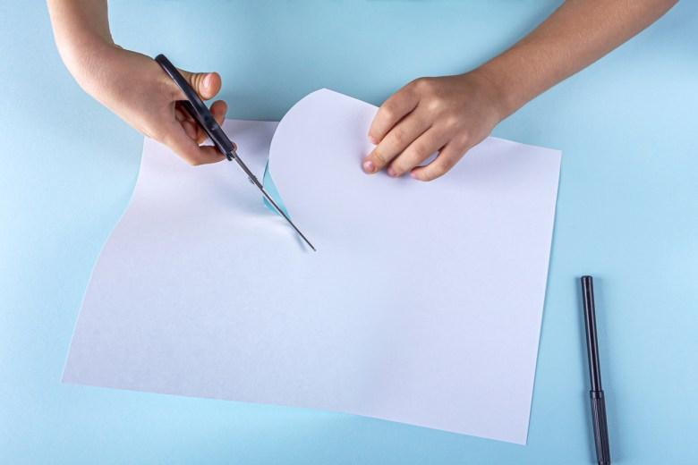 spökpyssel papper