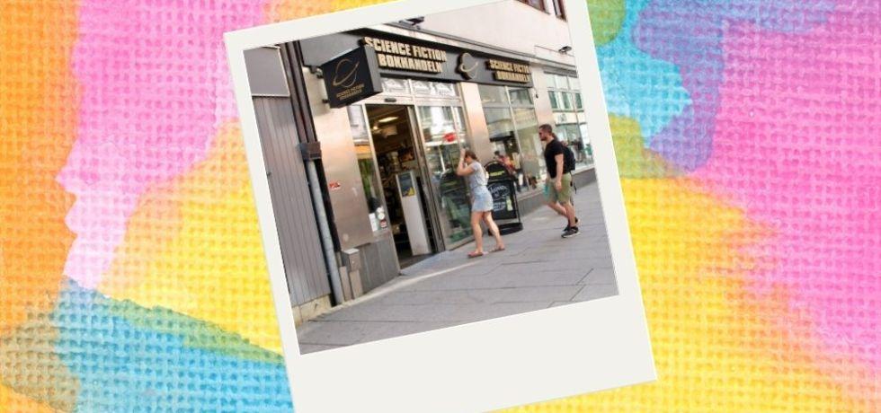 besöka science fiction bokhandeln i göteborg